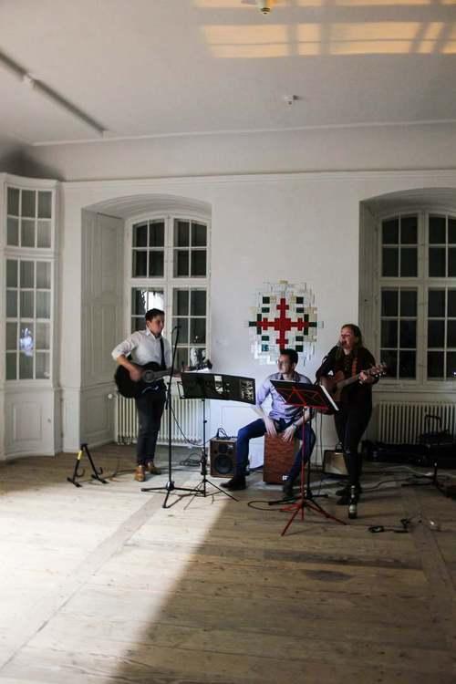 Maren Spindler mit Band
